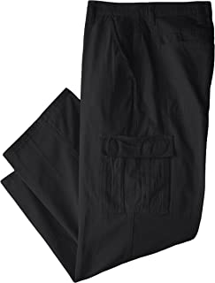 Wrangler Authentics Men's Big & Tall Classic Twill Relaxed Fit Cargo Pant