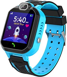 YENISEY Smartwatch Niño Game Watch con Juego Cámara 100+ Fotos Música Despertador Modo Escuela Llamadas SOS Smart Watch R...