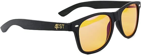 Blue Light Blocking Glasses -Anti-Eyestrain Computer, Gaming Eyewear -Improve Sleep