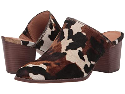 Madewell Harper Mule (Faded Birch Multi Cow Haircalf) Women