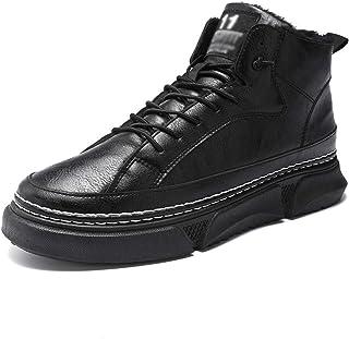 LJFZMD Sport Sneakers, Chaussure Athlétique Tout Sport Chaussures Décontractées pour Hommes Haut De Gamme Imitation PU Bas...