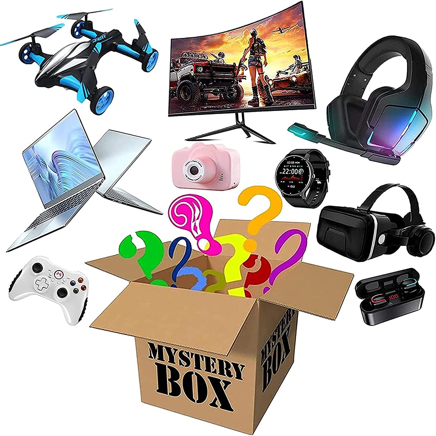 Lucky Box Rapid rise Mystery Boxes Super Electronic Long-awaited Cost Blind