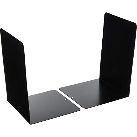 ナカバヤシ ブックエンド Lタイプ Lサイズ ブラック BE-L302MD