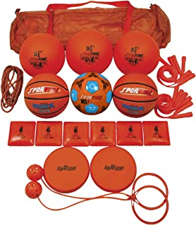 Sportime Recess Pack, Orange, Grade 2, Set of 19-1281820