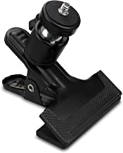 SUPON Multi-Function Tripod Camera Clip Clamp Flash Holder Mount with 360 Swivel Photography Ball-Head 1/4