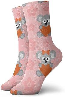Vintage Funny Koalas Pattern Socks Colorful Cool Sport Athletic Calcetines For Men & Women