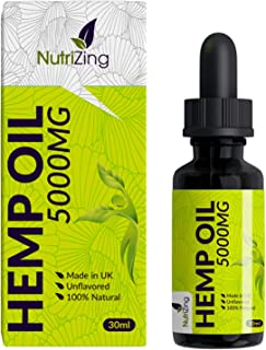 Premium Hemp Seed Oil Drops - Pure & Vegan - Made in UK