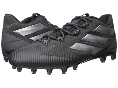adidas Freak Carbon Low (Black/Silver/Black) Men