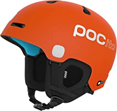 POC Unisex Youth POCito Fornix SPIN helm, fluorescerend
