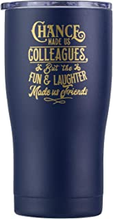 Chance Made Us Colleagues - Coworker Gifts for Women - Coworker Leaving, Goodbye Farewell, Appreciation, Birthday, Going Away, Good Luck, Job, Christmas Gifts for Coworkers (Navy Blue)