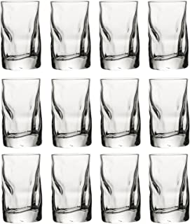 Bormioli Rocco Sorgente Highball-Glas, 12 Bormioli Rocco 7cl Shot Glasses