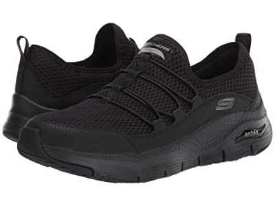SKECHERS Arch Fit Lucky Tho (Black) Women