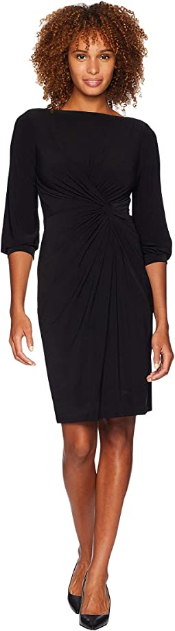 Matte Jersey Anavera 3/4 Sleeve Day Dress