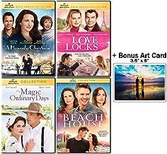 Hallmark Hall of Fame Collection: 4 Movies (A Heavenly Christmas / Love Locks / The Magic of Ordinary Days / The Beach House) + Bonus Art Card