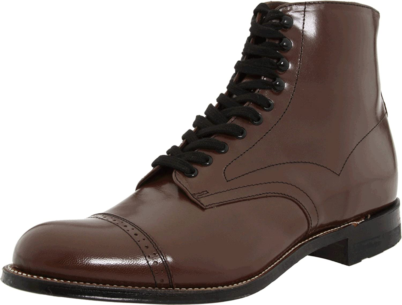Stacy Adams Men's Madison Cap Toe Boot,Brown,11 D B000FQ1AZS  | Bevorzugtes Material