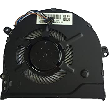 DoWee Cooling Fan for HP Pavilion 15-CC 15-CC700 CPU Cooling Fan 927918-001 NS75000-16K11 Compatible 927918-001 NS75000-16K11 DTA47G71TP003 FOXCONN G71 NFB80A05H-003 FSFTB5M