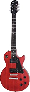 Epiphone Les Paul Studio - Guitarra eléctrica, color worn cherry