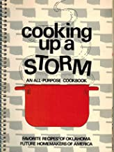 Cooking up a storm: An all-purpose cookbook : favorite recipes of Oklahoma Future Homemakers of America
