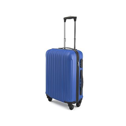 Eglemtek ABS Maleta Equipaje de mano cabina rígida ligera con 4 ruedas, 55cm ,trolley