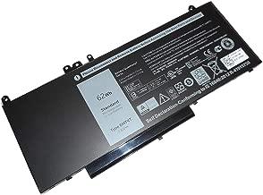 SUNNEAR Compatible/Replacement Laptop Battery for Dell 6MT4T Latitude E5470 E5570 Precision 3510 Laptop 7.6V 62Whr 7V69Y TXF9M 79VRK