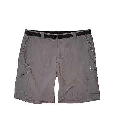 Columbia Big Tall Silver Ridge Cargo Short (42-54) (City Grey) Men