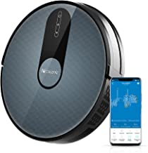 Proscenic 820S Robot Vacuum Cleaner, WiFi Connectivity, Alexa Control, Smart Mapping, Auto Boost, 1800Pa Max Suction, 600ML Large Dustbox, Self-Charging, for Pet Hairs, Hard Floors and Carpets, Blue