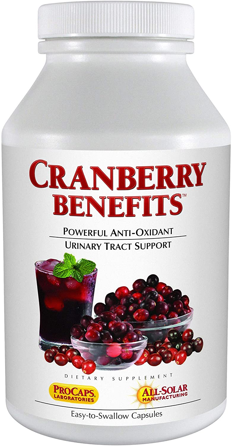 Andrew Opening large release sale Lessman Cranberry Some reservation Benefits 240 Capsules B Supports –