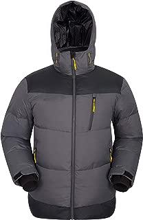 Mountain Warehouse PE Mens Down Jacket -Warm, Insulated Autumn Coat