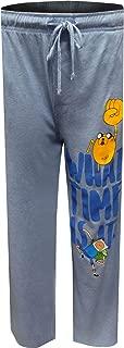 MJC Men's Adventure Time Jake and Finn Lounge Pants