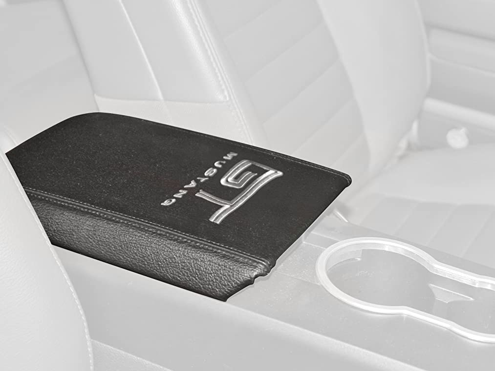 Drake Muscle Cars 5R3Z-6306024-GT Armrest Cover with 'GT' Logo