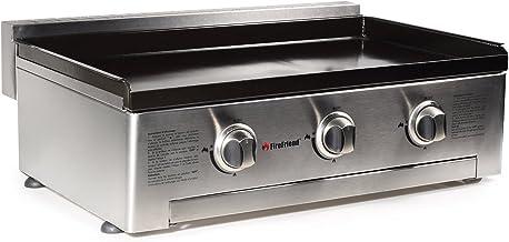 FireFriend BQ-6395 Parrilla de Gas, Tres quemadores, Acero