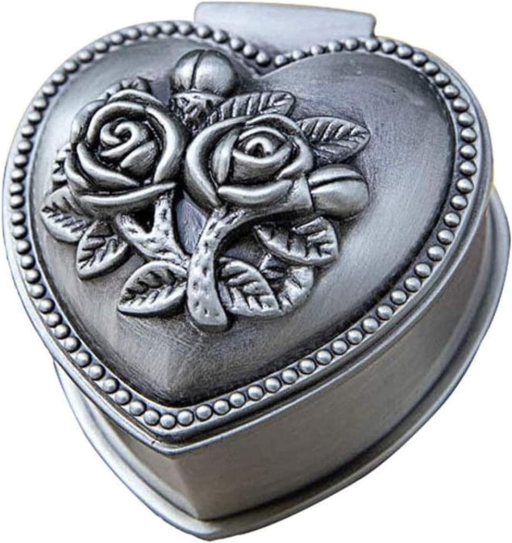 KEEBON 2pcs Jewellery Box Organiser Online limited product Zinc Alloy Re Mail order cheap European Style
