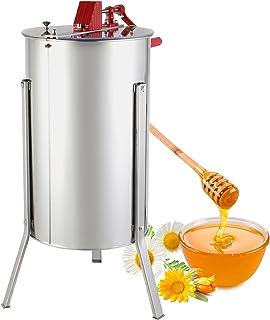 BuoQua Honigschleuder Honey Extractor 3 Waben Manual Bienenzucht Ausrüstung Imker für Anfänger Bienenzüchter Zubehör 3 Waben Manual Honigschleuder