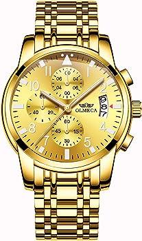 OLMECA Men's Fashion Luxury Wrist Watches