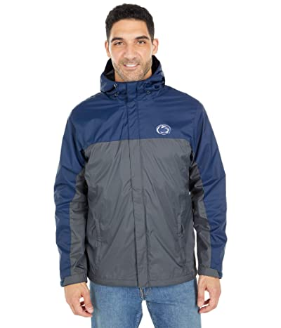 Columbia College Penn State Nittany Lions Glennaker Stormtm Jacket (Collegiate Navy/Dark Grey) Men