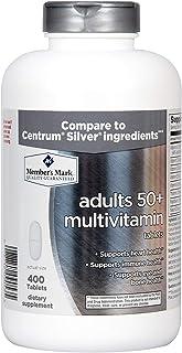 Member's Mark Daily Multivitamin (Adults 50+ Multivitamin 400 Count)