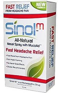 AllNatural Nasal Sprays with Capsaicin Headache Relief 15 ml