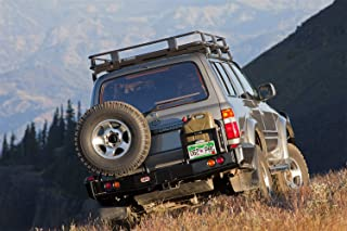 arb rear bumper land cruiser 100