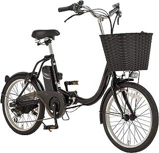 Voldy 折りたたみ 電動アシスト自転車 小径車 20インチ シマノ外装6段変速 かご LEDライト FDB-202EA-2