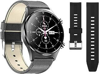 Smart Watch, E13 Heren IP68 Waterdichte Zwemmen Smartwatch Meerdere Oefening Hartslag Fitness Tracking Smart Clock voor iO...