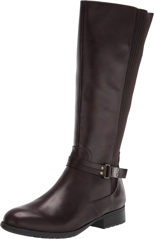 Life Stride Women's X-Anita Knee High Boot, Dark Chocolate, 5