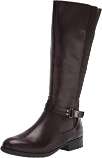 LifeStride Women's X-Anita Knee High Boot, Dark Chocolate, 8 Wide