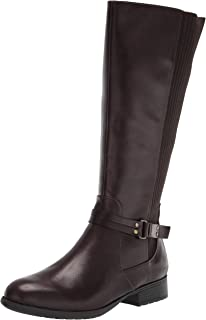 Life Stride Women's X-Anita Knee High Boot, Dark Chocolate, 6W