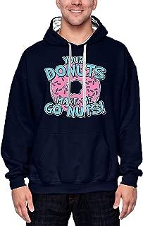 HAASE UNLIMITED Your Donuts Make Me Go Nuts - Funny Unisex Hoodie Sweatshirt