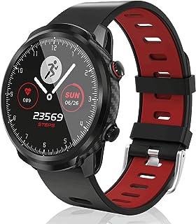 CatShin Reloj Inteligente Mujer,smartwatch Hombre Tracker de Actividad, Pantalla táctil Fitness Tracker, Reloj Deportivo Bluetooth IP67 a Prueba de Agua con Monitor de frecuencia cardíaca,Android iOS