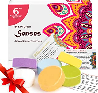 Shower Steamers with Essential Oils for Home Spa Relaxation Stress Relief Gift for Women Aromatherapy Table...
