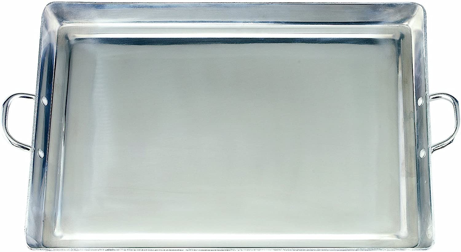 Crestware Aluminum Opening large release sale Griddle 19-1 Polished 2-Inch by 15.375-Inch Charlotte Mall
