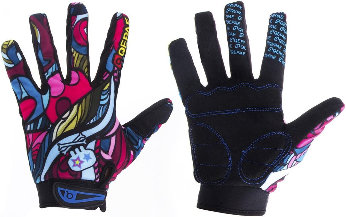 YYGIFT Cycling service Full Finger Gloves Price reduction Pad Sports Telefingers Gel for