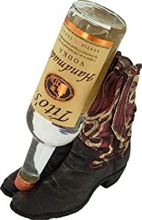 REP Cowboy Boot Wine Bottle Holder 929