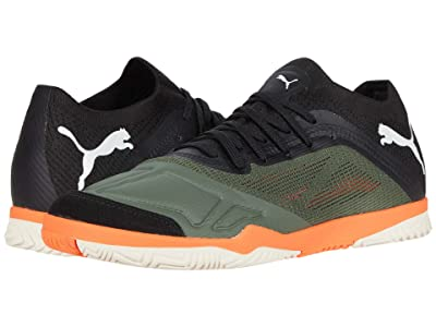 PUMA 365 Futsal 1 (Thyme/Puma Black/Shocking Orange/Vaporous Gray) Men